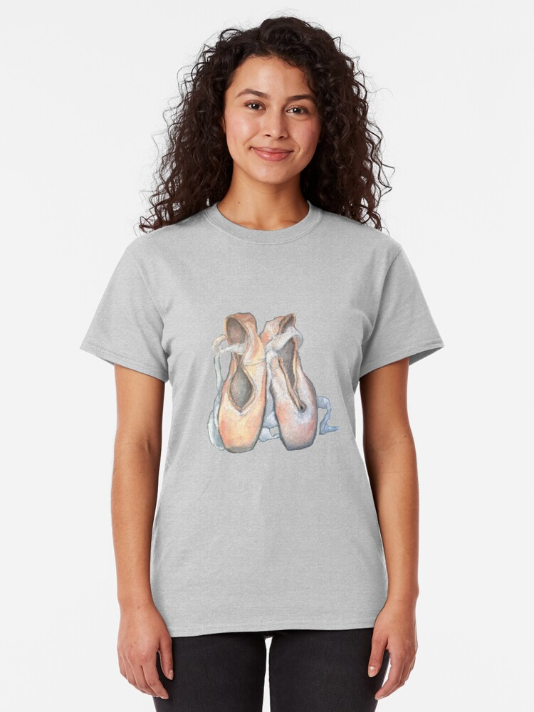 Alternative Ansicht von Pointe Pastell Classic T-Shirt