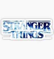 STRANGER THINGS WAVES  Sticker