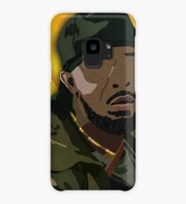 Omar l The Wire (Digital Fabric Collage) Case/Skin for Samsung Galaxy