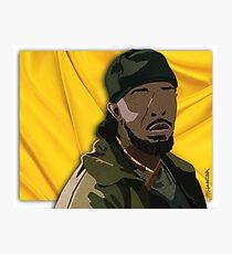 Omar l The Wire (Digital Fabric Collage) Photographic Print