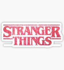 STRANGER THINGS GLITTER  Sticker