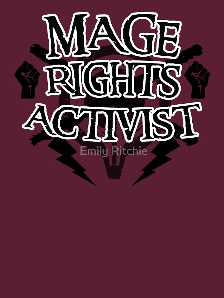 Mage Rights Activist by jessiepup260
