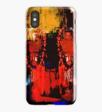 Digital Tribal Oil Painting  iPhone Case