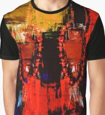 Digital Tribal Oil Painting  Graphic T-Shirt