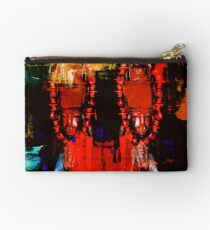 Digital Tribal Oil Painting  Studio Pouch