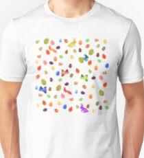 Joyeux Pâquetchwork Unisex T-Shirt