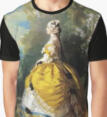 Franz Xaver Winterhalter - The Empress Eugenie (Eugenie De Montijo) Graphic T-Shirt
