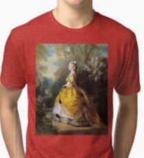 Franz Xaver Winterhalter - The Empress Eugenie (Eugenie De Montijo) Tri-blend T-Shirt