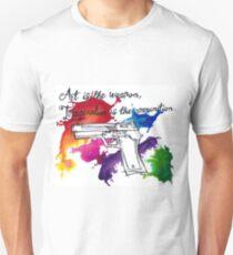 art, ammunition Unisex T-Shirt