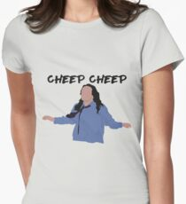 The Room - Cheep Cheep Womens Fitted T-Shirt