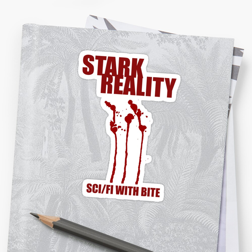 STARK REALITY Logo with blood by BMBaus