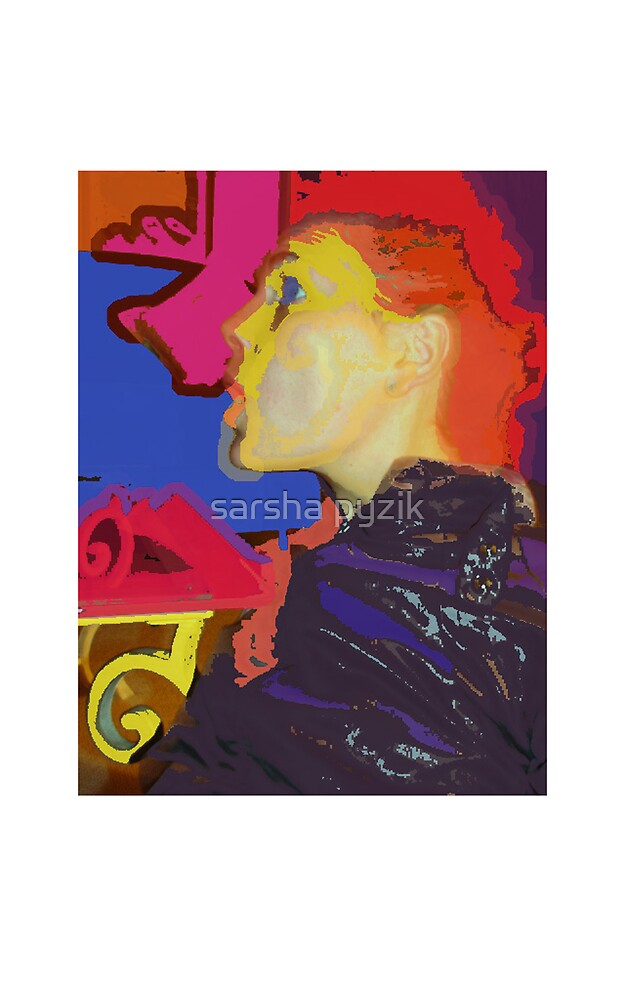 Self portrait by sarsha pyzik