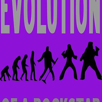Evolution of a rockstar by Grobie