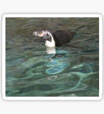 Swimming penguin Sticker