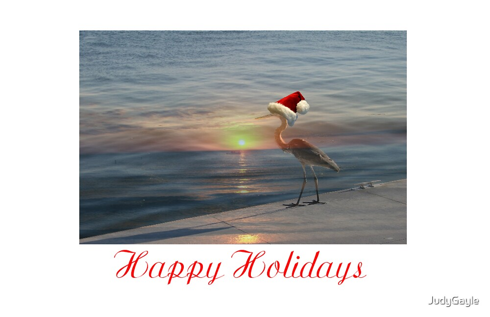 Happy Holidays by Judy Gayle Waller
