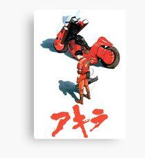 Akira Kaneda Bike Canvas Print