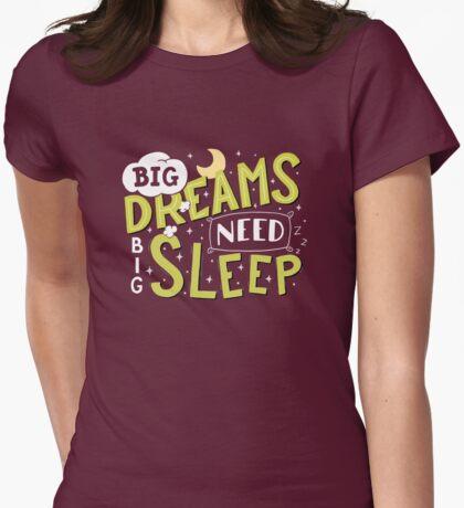 Big dreams need big sleep - Green T-Shirt