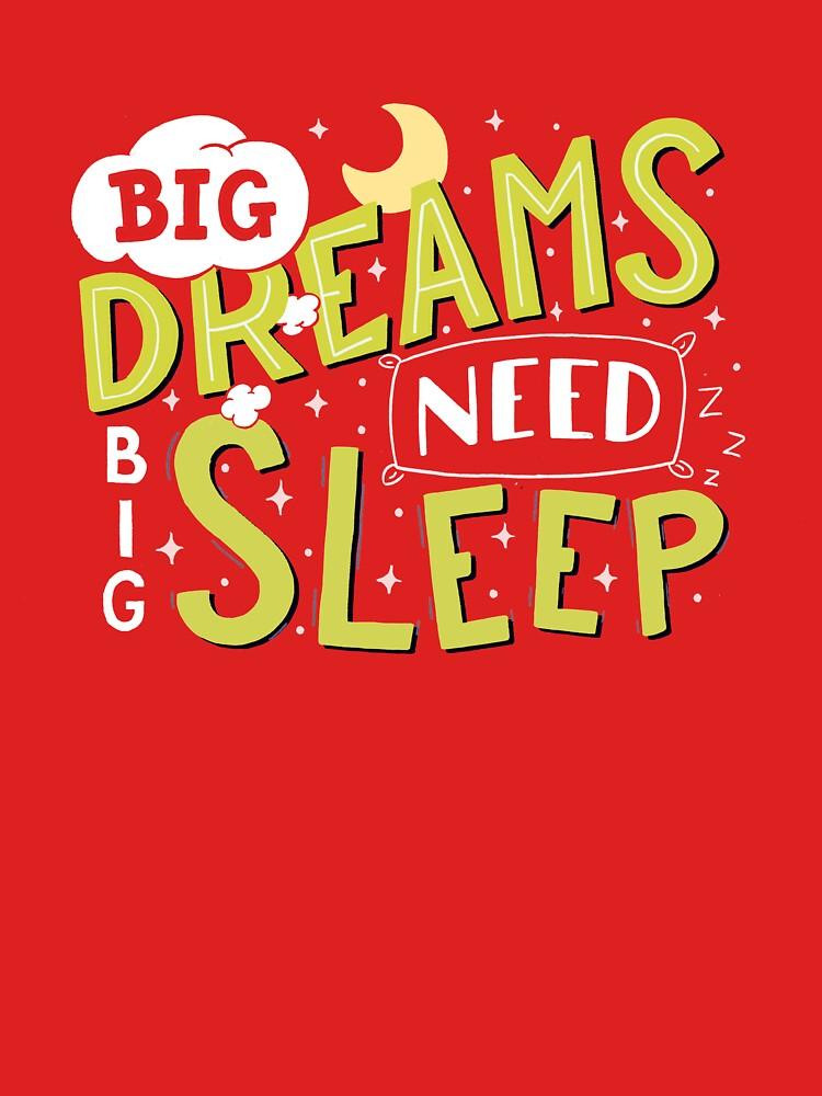 Big dreams need big sleep - Green by romaricpascal