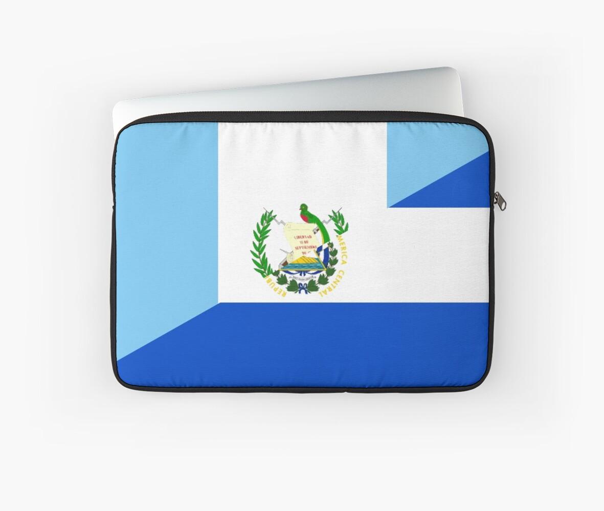 Guatemala El Salvador Flag Laptop Sleeves By Tony4urban Redbubble
