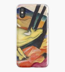 Franz Marc - Yellow Cow  iPhone Case/Skin