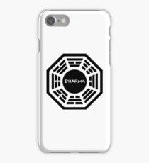 Dharma Initiatives iPhone Case/Skin