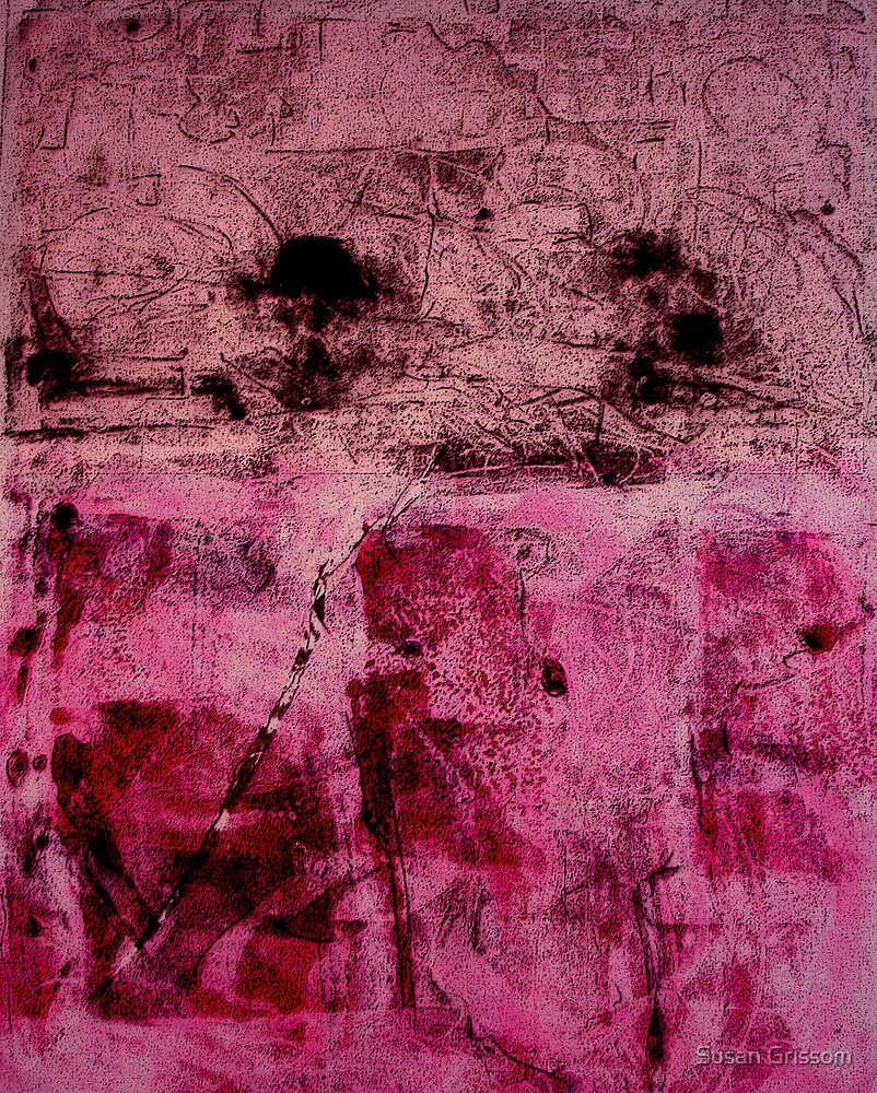 Monotype Rose by Susan Grissom