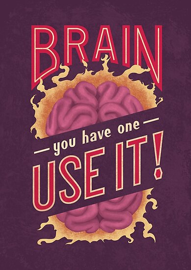 Brain - You have one - Use it! by Romaric Pascal