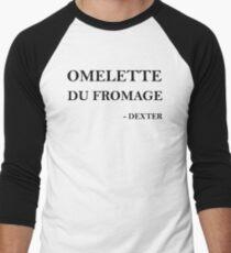Omelette du fromage Men's Baseball ¾ T-Shirt