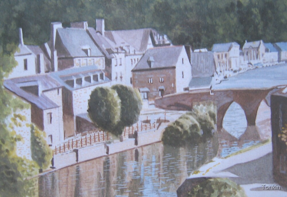 Dinan, Brittany by Tonkin