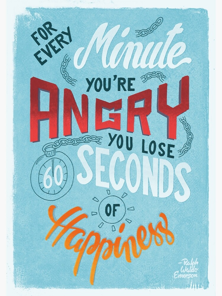 For every minute you're angry... by romaricpascal
