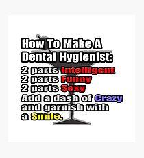 Dental Hygienist Cocktail Photographic Print