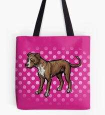 Pinky Bully Breed Tote Bag