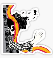 motion city soundtrack - commit this to memory  Sticker