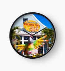 Margaritaville Trading Post Clock