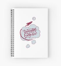 Imagination will take you everywhere Spiral Notebook