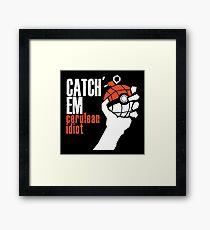 Catch em Framed Print