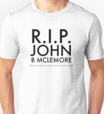 RIP John B Mclemore Slim Fit T-Shirt