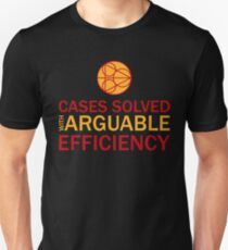 Cases Solved with Arguable Efficiency - Dirk Gently T-Shirt