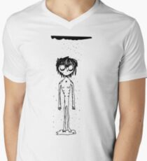 Sad boy Men's V-Neck T-Shirt