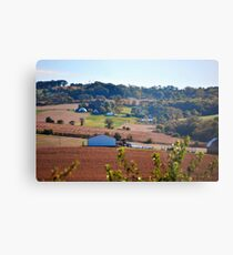 Farms Metal Print