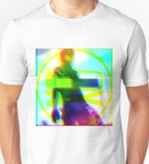 Glitchy Party Poison - Gerard Way - Danger Days Era Unisex T-Shirt