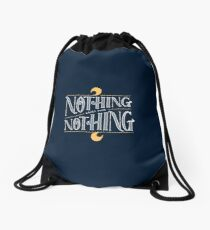 Nothing comes from nothing Drawstring Bag
