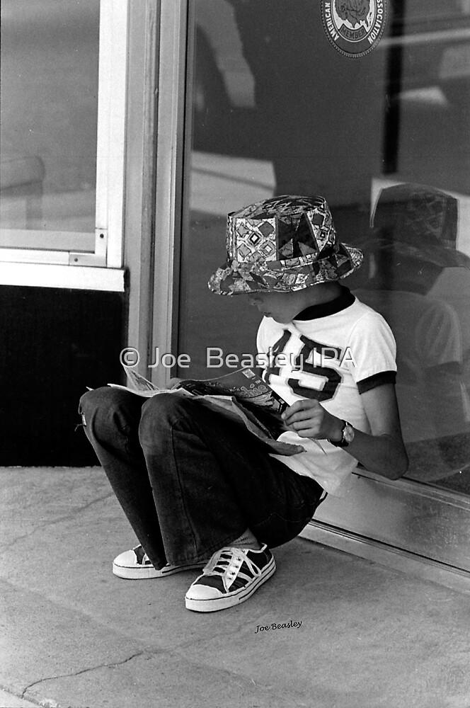 Reading Comic Book by © Joe  Beasley IPA
