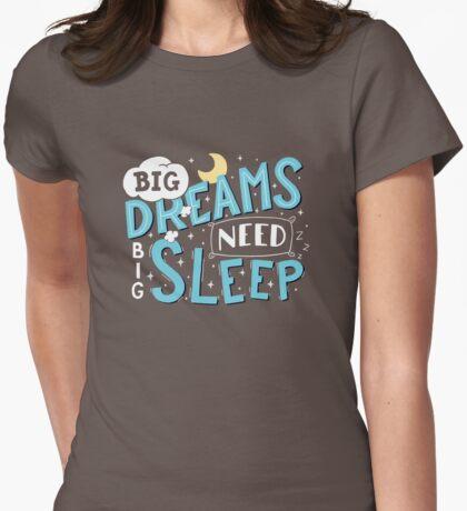 Big dreams need big sleep - Blue T-Shirt