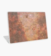 Faded Space Marble Orange and Red Sky's Laptop Skin