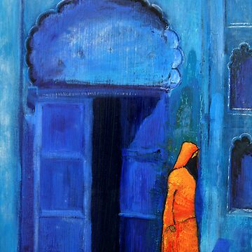 Blue door Marrakech by huess