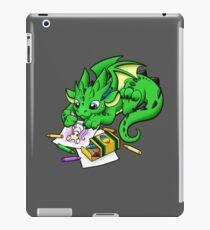 Vinilo o funda para iPad Dragón para colorear