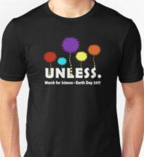UNELSS, März für die Wissenschaft Slim Fit T-Shirt