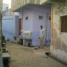 Street in Agra by Lidiya