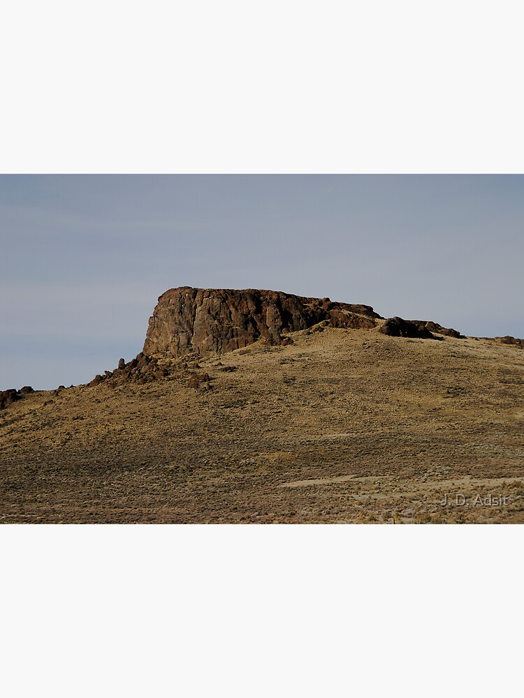 A Lonely Butte by adsitprojectpro